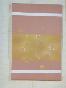 染名古屋帯 小桜