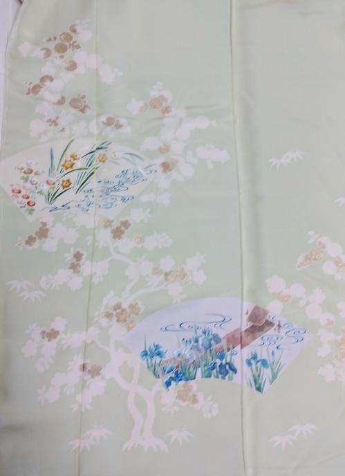 令和元年8月1日(木曜日) 訪問着 琳派四季の花